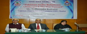 PU CSAS organizes seminar on Pak-India Relations