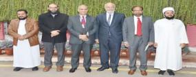 Saudi delegation visits PU