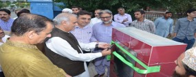 PU VC lays foundation stone of PUEHS Town 1 mosque