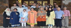 Urdu language course for Turkish students concluded at PU